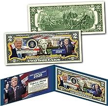 DONALD TRUMP Keep America Great 2020 Official Genuine Legal Tender U.S. $2 Bill
