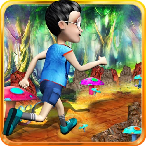 Doraemon Nobita Temple Jungle Run