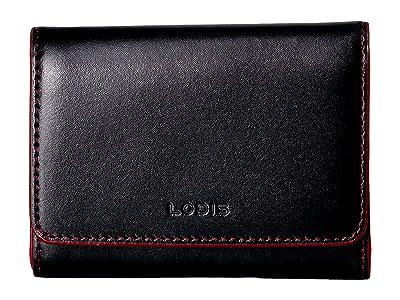 Lodis Accessories Audrey RFID Mallory French Purse (Black RFID) Wallet Handbags