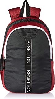 United Colors of Benetton 20 Ltrs Red Laptop Backpack (0IP6MPBKP001I)