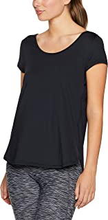 CALVIN KLEIN Women's Cross Back Active Tee