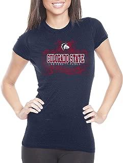NCAA Colorado State Pueblo Thunderwolves Womens Prius2 Long Body Classic T-Shirt