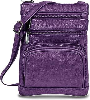 Best purple leather crossbody Reviews