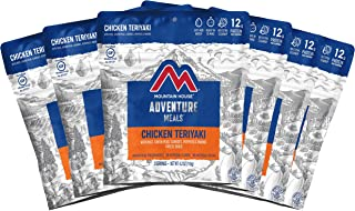 Mountain House Chicken Teriyaki with Rice | Freeze Dried Backpacking & Camping Food | 6-Pack | Gluten-Free