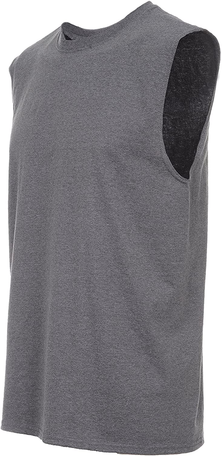 Fruit of the Loom Tee Men Large special price Sleeveless Miami Mall