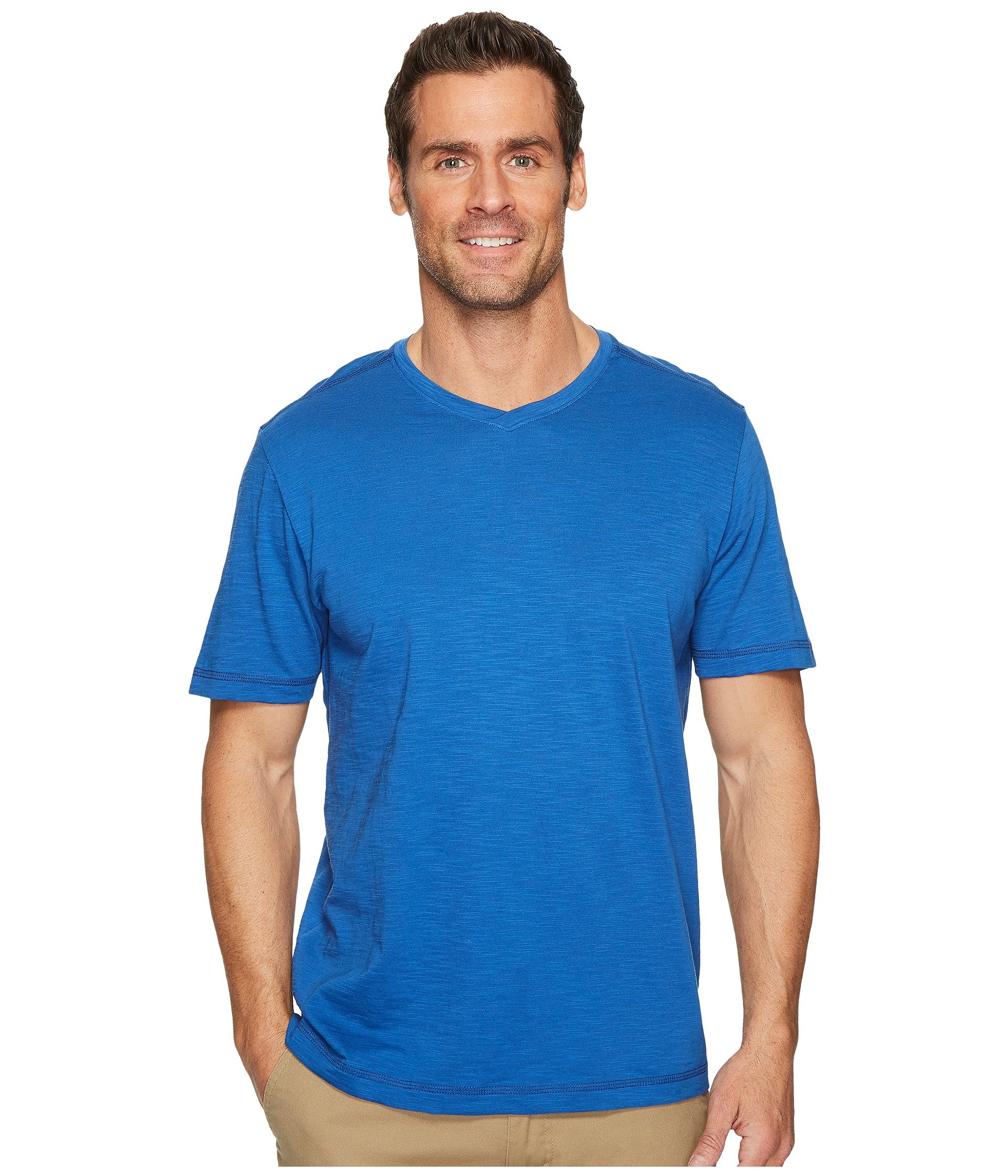 Bahama Portside Blue shirt V Galaxy Tommy neck Palms T F1qH1xwa