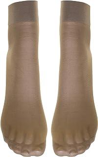 Mariposa Women's Ankle Stockings Silky Finish