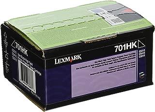 Best lexmark 701k toner Reviews