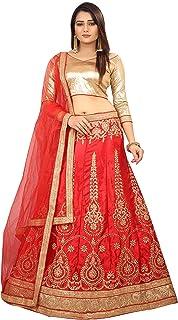 Ethnicset Embroidered Silk Lehenga Choli For Women