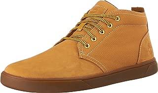 Timberland 添柏岚 男式 Groveton Leather and Fabric 靴子