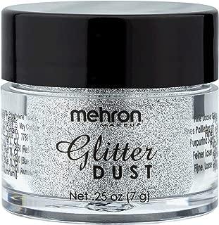 Mehron Makeup GlitterDust (.25 ounce) (Silver)
