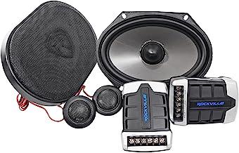 $49 » Pair Rockville RV68.2C 6x8 / 5x7 Component Car Speakers 900 Watts/170w RMS CEA