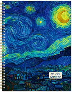 "2021-2022 Monthly Planner - 18-Month Calendar/Planner 2021-2022 with Monthly Tabs, Jul 2021 - Dec 2022, 9"" x 11"", 13 Note ..."