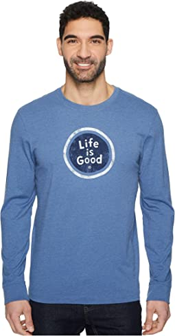 Life is Good - LIG Coin Long Sleeve Crusher Tee