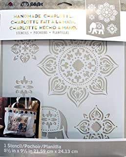 FolkArt 30950 Laser Cut Painting Stencil, Tangier