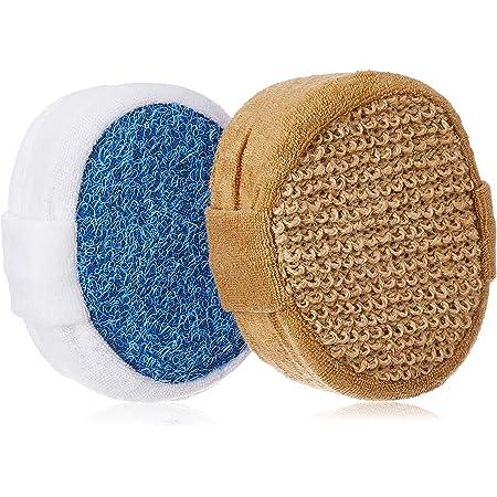 Amazon Brand - Solimo Bath Sponge Pair