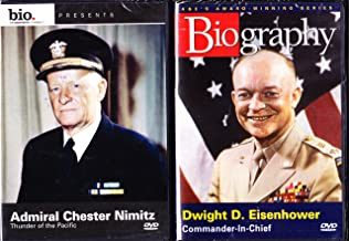Biography : Dwight D. Eisenhower: Commander-in-chief ,Biography: Admiral Chester Nimitz - Thunder of The Pacific: WWII 2 Pack