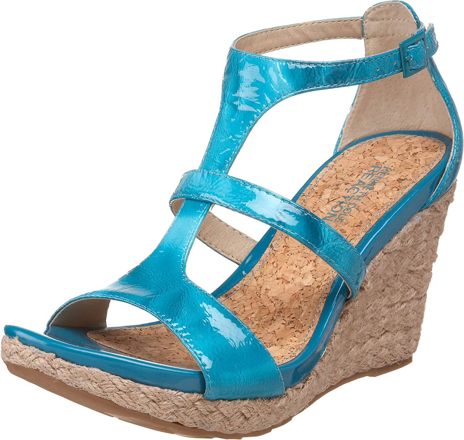 Kenneth Cole REACTION Choice Women's Kiss Or Sandal Dare Wedge Challenge the lowest price