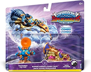 Skylanders SuperChargers Dual Pack #3: Big Bubble Pop Fizz and Soda Skimmer