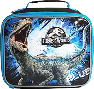 Universal Jurassic World 2 Lunch Bag, Polyester, Multi-Colour, 23 x 8 x 19.5 cm