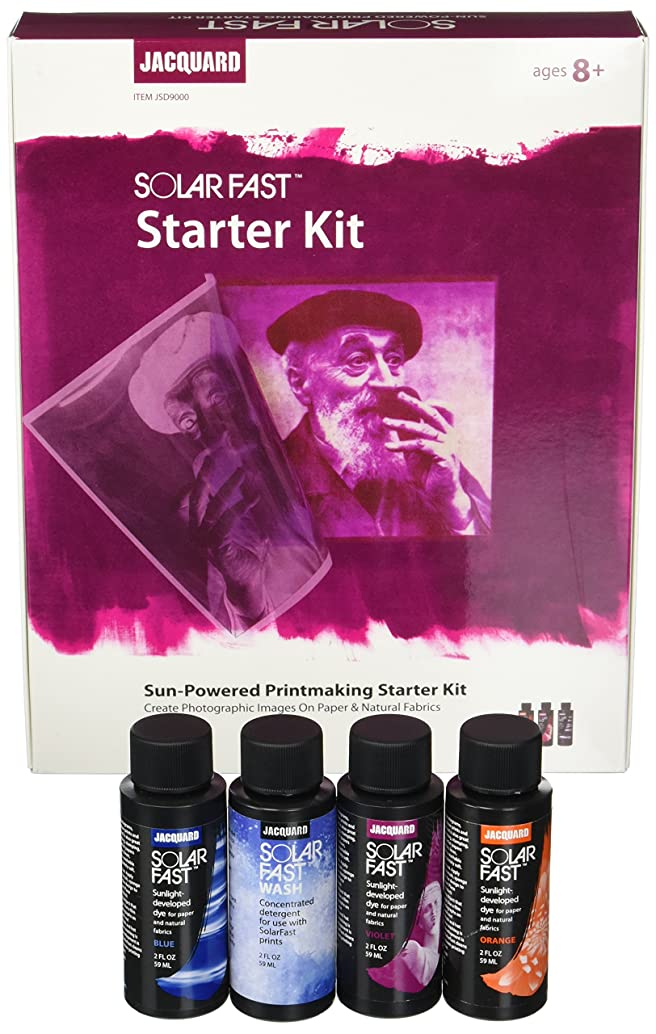 Jacquard JAC-JSD9000 Solar Fast Sun Powered Printmaking Starter Kit