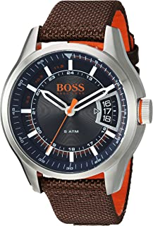 HUGO BOSS Men's Hong Kong Sport Stainless Steel Quartz...
