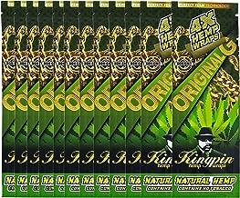 Kingpin Original G Hemp Wraps - 12 Packs (48 Total Wraps)