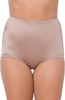 Rago Women's Plus-Size Control Panty Brief