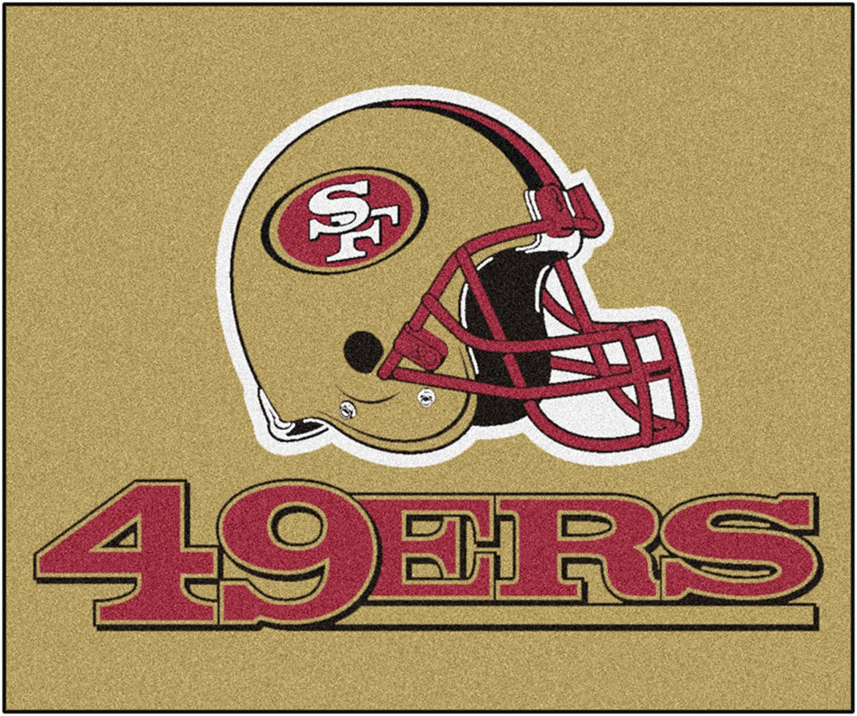 (Tailgater Mat)  FANMATS NFL San Francisco 49ers Nylon Face Tailgater Rug