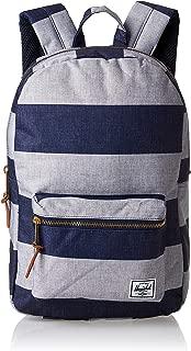 Herschel Settlement Mid-Volume Unisex Casual Backpack - Polyester, Navy/Grey 10033-02538-OS