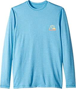 Heritage Surf Heather Long Sleeve Tee (Big Kids)