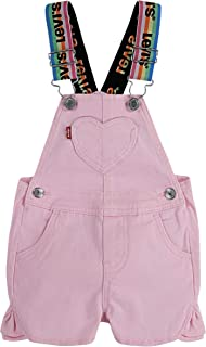 Levi's Baby Girls' Denim Shortalls