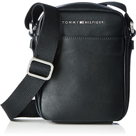 Tommy Hilfiger TH City Mini Reporter, Bolsa para Hombre, Negro (Black), 6x24x29 cm (b x h x t)