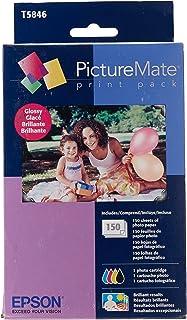 Epson T5846 Pacote com impressão PictureMate - Brilhante