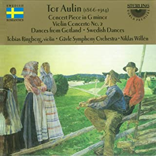 Aulin: Concert Piece in G Minor - Violin Concerto No. 2