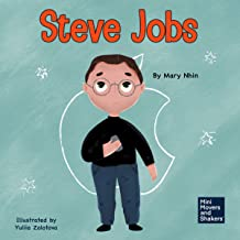 Steve Jobs: A Kid's Book About Changing the World: Mini Movers and Shakers, Book 2