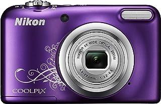 Nikon Coolpix A10 16,1 MP 1/2,3 inch CCD 4608 x 3456 pixels, violet – digitale camera's (kunstwerken, auto, netwerk, batte...
