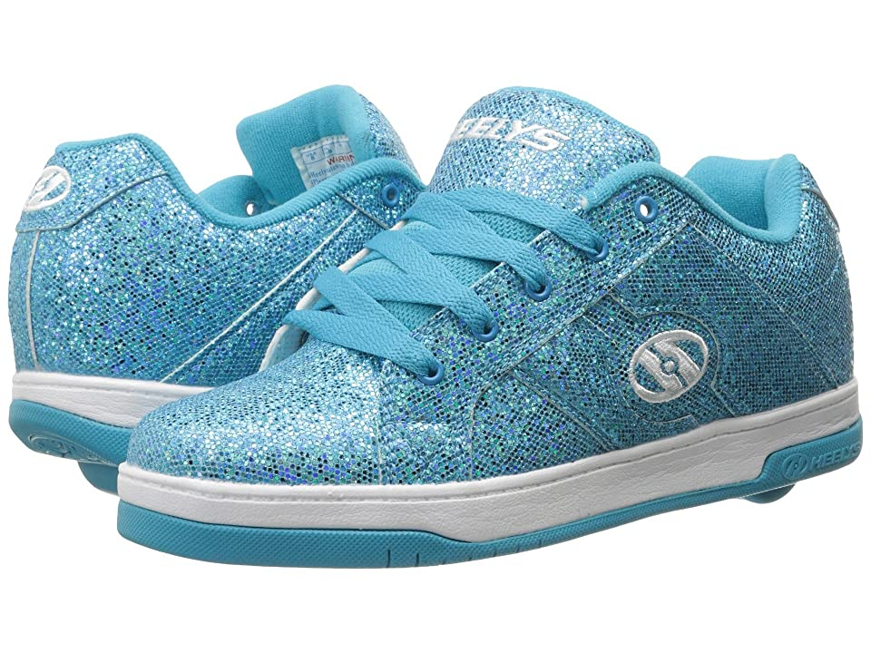Heelys Split (Little Kid/Big Kid/Adult) (Blue Disco Glitter) Kids Shoes