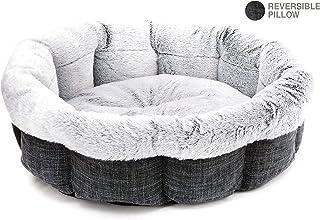 Best Pet Supplies Round Bed for Pet, Dark Gray