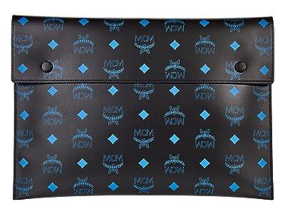 MCM Color Splash Logo Pouch