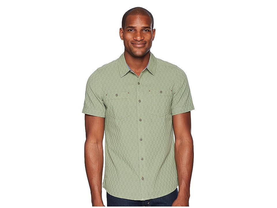Toad&Co Harris Short Sleeve Slim Shirt (Agave) Men