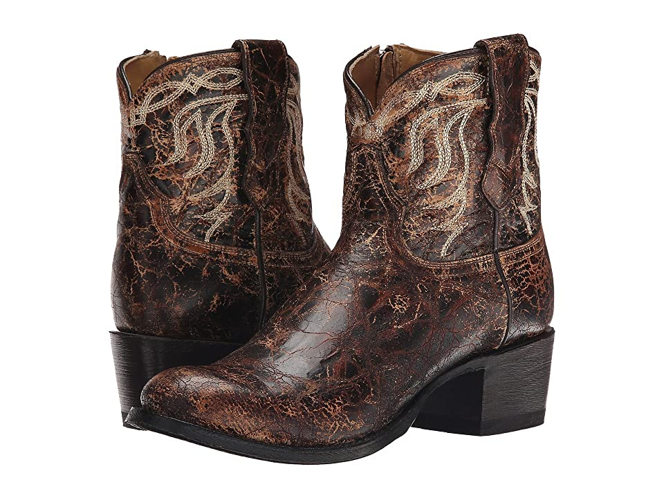 Stetson Sarah (Distressed Brown Vamp) Cowboy Boots