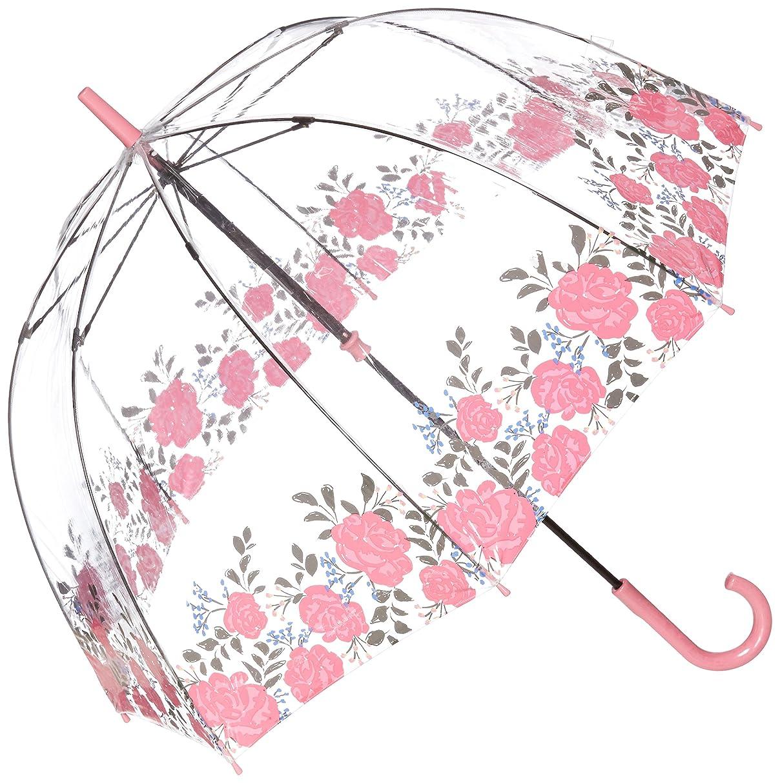 宴会公平なギャラントリー(フルトン)MOONBAT(ムーンバット) フルトン 婦人ビニール長傘 バードケージ Floral