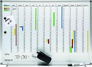 Genie AP2000 - Pizarra de planificación 77 x 56 cm Mensual