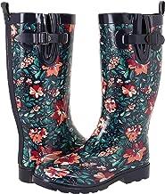 Capelli New York Ladies Tall Sporty Body Rubber Rain Boots
