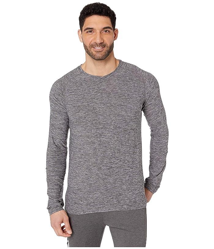 Royal Robbins Bug Barriertm Tech Travel Long Sleeve Shirt (Charcoal Heather) Men