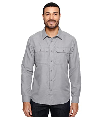 Mountain Hardwear Canyontm L/S Shirt (Manta Grey) Men