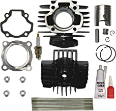YAMAHA PW 50 PW50 QT 50 QT50 Cylinder Piston Ring Head Gasket Set Kit BRAND NEW