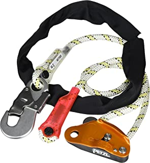 PETZL - GRILLON Hook, Adjustable Work Positioning Lanyard with Hook Connector, 2 m