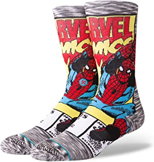 Calcetines Spiderman Comic Gris